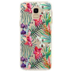 Plastové pouzdro iSaprio - Flower Pattern 03 - Samsung Galaxy J6