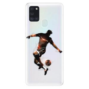 Odolné silikonové pouzdro iSaprio - Fotball 01 - Samsung Galaxy A21s