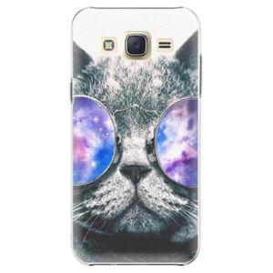 Plastové pouzdro iSaprio - Galaxy Cat - Samsung Galaxy Core Prime