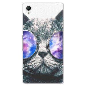 Plastové pouzdro iSaprio - Galaxy Cat - Sony Xperia Z1