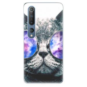 Odolné silikonové pouzdro iSaprio - Galaxy Cat - Xiaomi Mi 10 / Mi 10 Pro