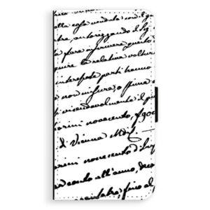 Flipové pouzdro iSaprio - Handwriting 01 - black - Huawei P10 Plus