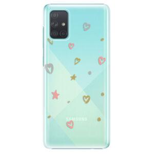 Plastové pouzdro iSaprio - Lovely Pattern - Samsung Galaxy A71