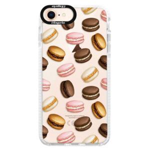 Silikonové pouzdro Bumper iSaprio - Macaron Pattern - iPhone 8