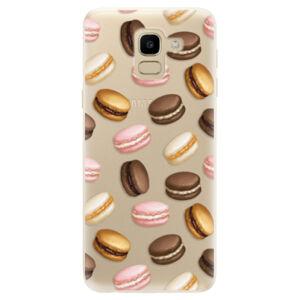 Odolné silikonové pouzdro iSaprio - Macaron Pattern - Samsung Galaxy J6