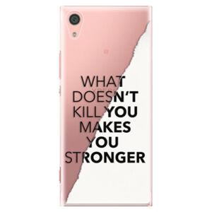Plastové pouzdro iSaprio - Makes You Stronger - Sony Xperia XA1