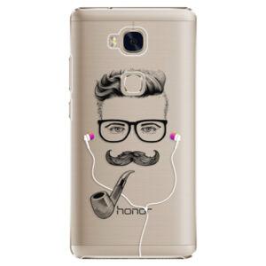 Plastové pouzdro iSaprio - Man With Headphones 01 - Huawei Honor 5X