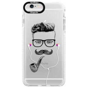 Silikonové pouzdro Bumper iSaprio - Man With Headphones 01 - iPhone 6/6S