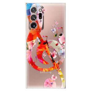 Odolné silikonové pouzdro iSaprio - Music 01 - Samsung Galaxy Note 20 Ultra