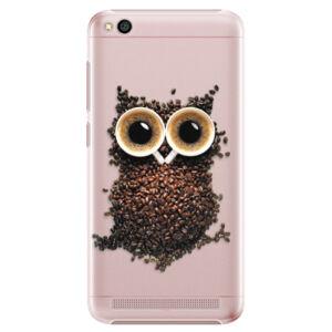 Plastové pouzdro iSaprio - Owl And Coffee - Xiaomi Redmi 5A
