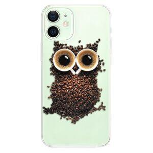 Plastové pouzdro iSaprio - Owl And Coffee - iPhone 12