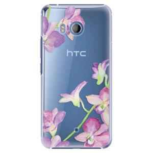 Plastové pouzdro iSaprio - Purple Orchid - HTC U11