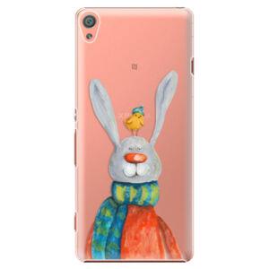 Plastové pouzdro iSaprio - Rabbit And Bird - Sony Xperia XA