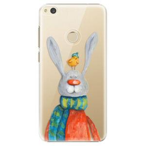 Plastové pouzdro iSaprio - Rabbit And Bird - Huawei P8 Lite 2017