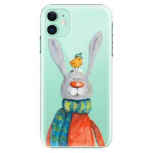 Plastové pouzdro iSaprio - Rabbit And Bird - iPhone 11