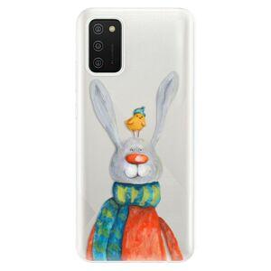 Odolné silikonové pouzdro iSaprio - Rabbit And Bird - Samsung Galaxy A02s