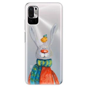 Odolné silikonové pouzdro iSaprio - Rabbit And Bird - Xiaomi Redmi Note 10 5G