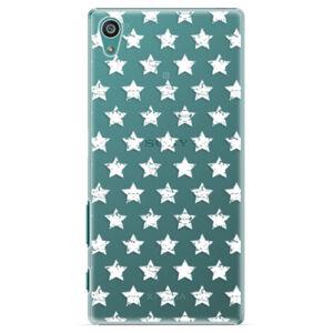 Plastové pouzdro iSaprio - Stars Pattern - white - Sony Xperia Z5
