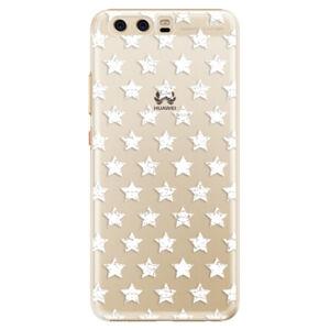 Plastové pouzdro iSaprio - Stars Pattern - white - Huawei P10