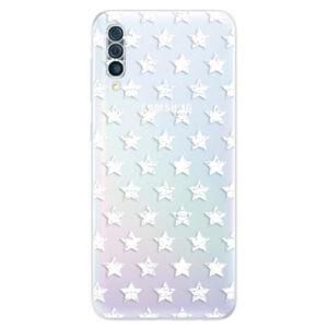 Odolné silikonové pouzdro iSaprio - Stars Pattern - white - Samsung Galaxy A50