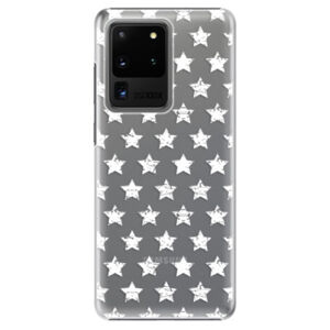 Plastové pouzdro iSaprio - Stars Pattern - white - Samsung Galaxy S20 Ultra