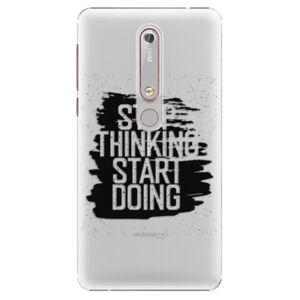 Plastové pouzdro iSaprio - Start Doing - black - Nokia 6.1
