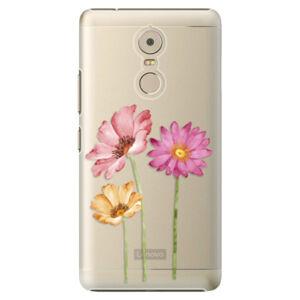 Plastové pouzdro iSaprio - Three Flowers - Lenovo K6 Note