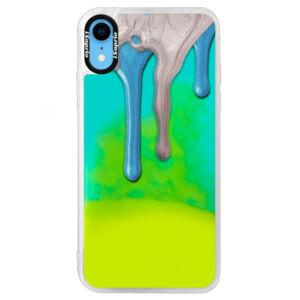 Neonové pouzdro Blue iSaprio - Varnish 01 - iPhone XR