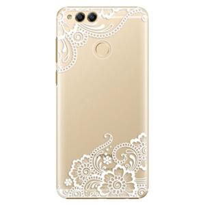 Plastové pouzdro iSaprio - White Lace 02 - Huawei Honor 7X