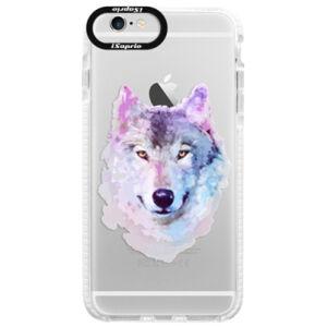 Silikonové pouzdro Bumper iSaprio - Wolf 01 - iPhone 6/6S