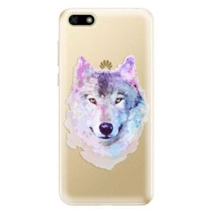 Odolné silikonové pouzdro iSaprio - Wolf 01 - Huawei Y5 2018