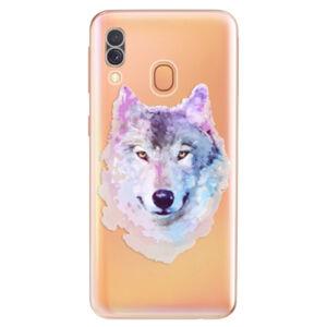 Odolné silikonové pouzdro iSaprio - Wolf 01 - Samsung Galaxy A40