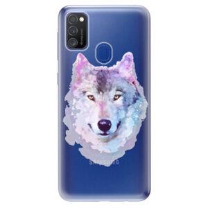 Odolné silikonové pouzdro iSaprio - Wolf 01 - Samsung Galaxy M21
