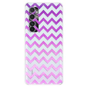 Odolné silikonové pouzdro iSaprio - Zigzag - purple - Xiaomi Mi Note 10 Lite