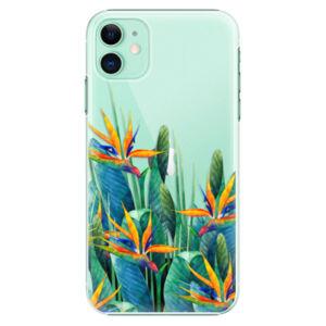 Plastové pouzdro iSaprio - Exotic Flowers - iPhone 11