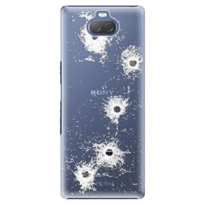 Plastové pouzdro iSaprio - Gunshots - Sony Xperia 10