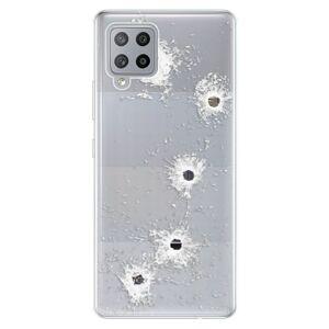 Odolné silikonové pouzdro iSaprio - Gunshots - Samsung Galaxy A42