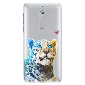 Plastové pouzdro iSaprio - Leopard With Butterfly - Nokia 5