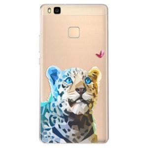 Odolné silikonové pouzdro iSaprio - Leopard With Butterfly - Huawei Ascend P9 Lite