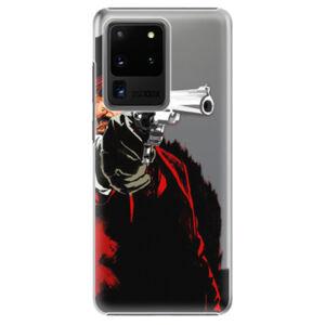 Plastové pouzdro iSaprio - Red Sheriff - Samsung Galaxy S20 Ultra