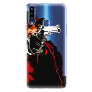 Odolné silikonové pouzdro iSaprio - Red Sheriff - Samsung Galaxy A20s
