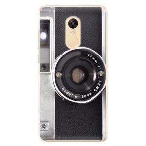 Plastové pouzdro iSaprio - Vintage Camera 01 - Xiaomi Redmi Note 4X