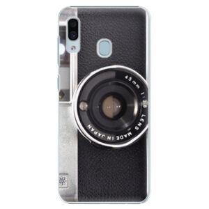 Plastové pouzdro iSaprio - Vintage Camera 01 - Samsung Galaxy A20