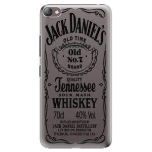 Plastové pouzdro iSaprio - Transparent Black Jack - Lenovo S60