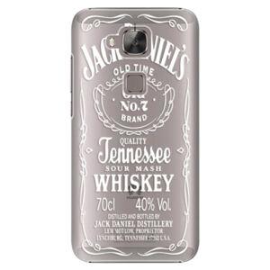 Plastové pouzdro iSaprio - Transparent White Jack - Huawei Ascend G8