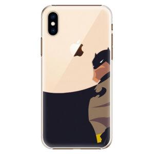 Plastové pouzdro iSaprio - BaT Comics - iPhone XS
