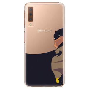 Plastové pouzdro iSaprio - BaT Comics - Samsung Galaxy A7 (2018)