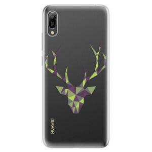 Odolné silikonové pouzdro iSaprio - Deer Green - Huawei Y6 2019