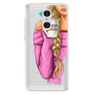 Plastové pouzdro iSaprio - My Coffe and Blond Girl - Xiaomi Redmi Pro