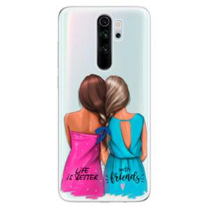 Odolné silikonové pouzdro iSaprio - Best Friends - Xiaomi Redmi Note 8 Pro
